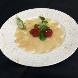 CARPACCIO DE SAINT JACQUES